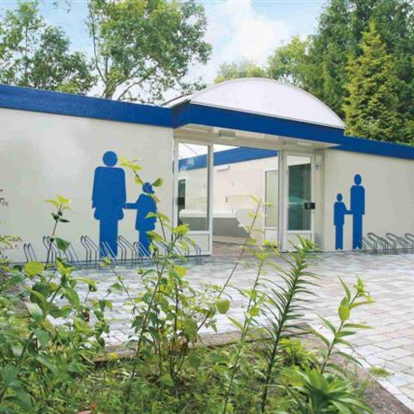 Sanitair camping de blauwe lantaarn - Toilet faciliteiten ...